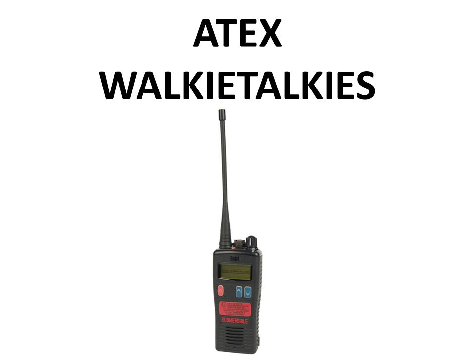 Walkies4Events - Verhuur - Offerte - ATEX-walkietalkies - Entel HT953