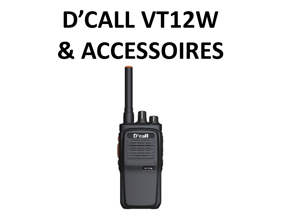 Walkies4Events - Verkoop - Offerte - SIM Trunk-walkietalkies - D'Call VT12W