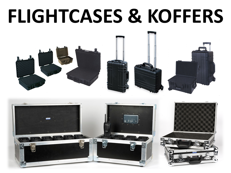 Walkies4Events - Verkoop - Offerte - Flightcases - DAP - Universele koffers - Survival Box - Lafayette koffer