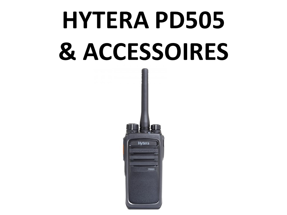 Walkies4Events - Verkoop - Offerte - Vergunde walkietalkies - Hytera PD505 DMR - RA-H1 - RA-H2 - ACM-01 - ES-02 - SM13M1 - SM08M3
